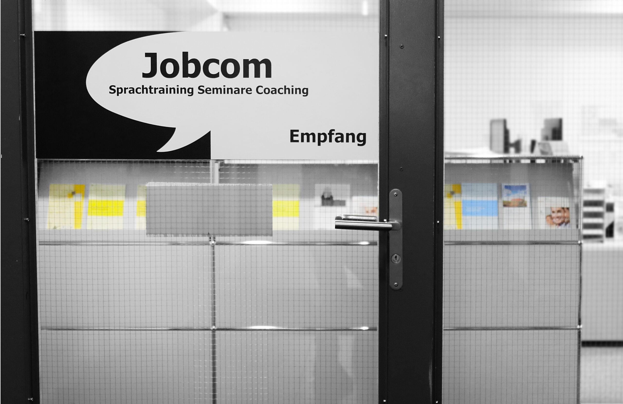 jobcom empfang